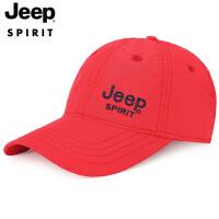 Jeep吉普鸭舌帽2019春夏新品四季棒球帽男女韩版户外休闲帽子速干遮阳帽