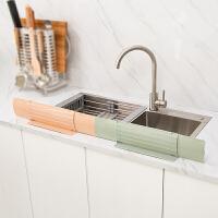 创意厨房小用品家用水槽伸缩防溅水油挡板隔水挡板家用水池挡水板
