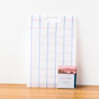 淡彩曲奇竖式风琴包文件夹A4竖款手提式多层学生试卷夹分类文件盒插页资料册高中生卷子资料包收纳