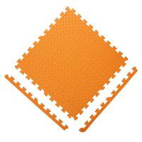 加厚2.5儿童泡沫地垫大号60宝宝爬爬行垫拼接拼图铺地板垫子 橙色( 单面)