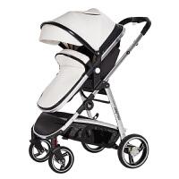 高观景宝宝推车可坐躺0-1-3岁新生儿夏季双向避震轻便折叠婴儿车MY51