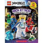 【预订】Lego Ninjago: Hack Attack! Sticker Activity Book 978054