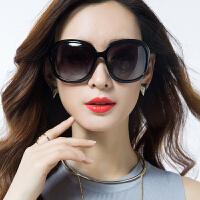 太阳镜女大框眼睛墨镜圆脸偏光复古防紫外线眼镜