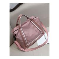 短途旅行包女手提韩版大容量外出小行李包单肩斜挎包健身包