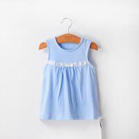 【直降价:29元】女童夏季背心裙夏季新款韩版儿童连衣裙婴儿公主裙小童