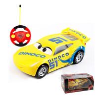 赛车总动员3黑风暴儿童玩具车闪电遥控车跑车男孩玩具 标配