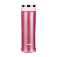 象印保温杯JZ48真空不锈钢水杯男女士便携茶杯迷你进口直身杯子 粉色