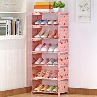 蜗家鞋架简易鞋柜加厚加固防尘多层收纳简约布鞋柜K073