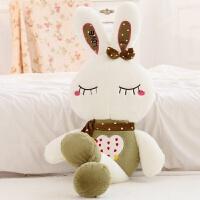 小兔子抱枕毛绒玩具大兔子布娃娃玩偶可爱床上抱着睡觉的公仔女孩
