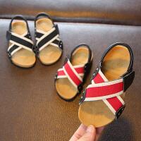 儿童凉鞋男夏季男童防滑软底宝宝沙滩鞋