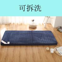 加厚1�稳舜�|0.8米褥子0.9m1.9�W生宿舍��室1.2一1.5地�睡�|被j 可拆洗