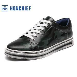 红蜻蜓旗下品牌HONCHIEF  男鞋休闲鞋秋冬鞋子男板鞋KTA1109