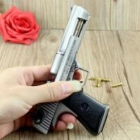 1:2.05沙漠之鹰 全金属玩具手枪枪模型 可拆卸弹夹手枪玩具不可发射 全场15cm左右