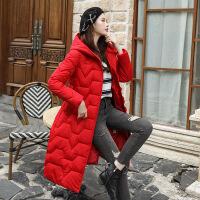 羽绒服女中长款2019新款韩版修身收腰女冬装加厚服外套潮