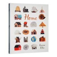 【现货】英文原版 Home 各种各样的家 卡森埃利斯 Carson Ellis 幼儿启蒙 精装 4-8岁儿童绘本