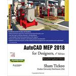 【预订】AutoCAD Mep 2018 for Designers 9781942689904