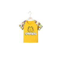 【专区59元3件】加菲宝贝 GAFFEY KITTY 儿童夏装新款男宝宝衣服GKA3201