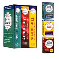 【全店满300减100】韦氏三宝 麦林韦氏日常用语字典套装 Merriam Webster's Everyday Lan
