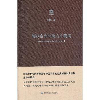 阿Q生命中的六个瞬间(六点评论)(汪晖把阿Q的形象置于中国革命的历史解释和文学叙述中来解读,回答了鲁迅《阿Q正传》研究史上的三大经典问题,由此对辛亥革命和现代启蒙进行思考)
