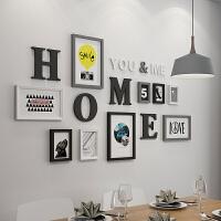 照片墙餐厅现代简约装饰个性相框挂墙背景墙墙面相册创意组合墙上