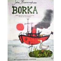Borka The Adventures of a Goose With No Feathers一只没有羽毛的鹅的冒险