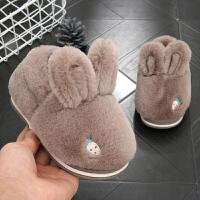 宝宝棉拖鞋1-3岁秋冬2儿童保暖男童家居女童室内婴儿棉鞋冬季