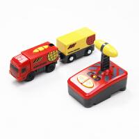 小火车玩具 4-6岁 电动小火车头 木质火车轨道车木制拖马斯轨道男孩儿童玩具3岁