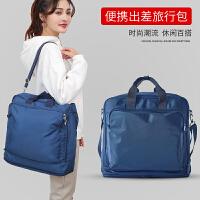 旅行袋女男轻便斜跨手提包大容量健身瑜伽单肩包多功能行李登机包