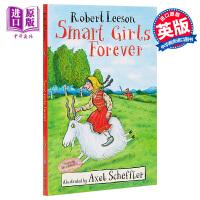 【中商原版】Smart Girls Forever永远的聪明女孩 儿童文学故事小说 平装 英文原版 7-12岁