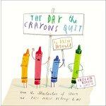 【现货】英文原版 儿童绘本 The Day the Crayons Quit 蜡笔停画那一天 趣味故事 3-5岁
