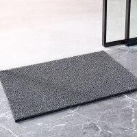 可裁剪丝圈地垫进门客厅入户门口脚垫门厅塑料浴室防滑垫定制q