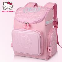 Hello Kitty凯蒂猫 KT1003粉红 可爱女童护脊双肩贵族书包礼品装 当当自营