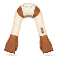 SKG4095按摩披肩肩颈按摩器 家用捶打加热颈部肩部