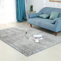 北欧纯色加厚客厅茶几沙发卧室地毯床边地垫现代简约定制可机洗k