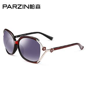帕森TR90大框太阳镜 时尚优雅女士偏光镜 司机驾驶墨镜9803