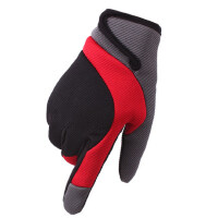 男士新款时尚防滑手套户外开车防寒女士骑行装备爬山保暖运动