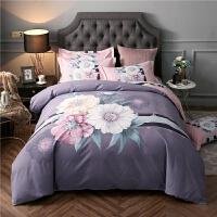 加厚磨毛棉四件套床上用品简约床单被罩1.8m冬季宿舍三件套k