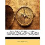 【预订】Essai Sur La Repartition Des Richesses Et Sur La Tendan