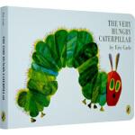 饥饿的毛毛虫进口原版 硬纸板 字母单词幼儿启蒙(0-3岁),Eric Carle(艾瑞・卡尔),Penguin US,