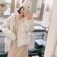 短款羽绒服女2018冬季新款韩版拉链宽松连帽女款时尚外套