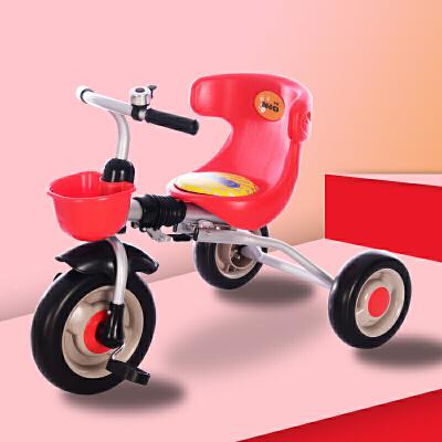 儿童三轮车脚踏车儿童三轮车可折叠轻便童车小孩自行车2-3-4岁宝宝脚踏车幼儿玩具LYZT54 萌宝出游季4.25-5.5跨店铺每满99减10,更多好物欢迎进店选购>&g