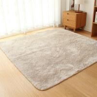 日式可水洗水草绒毛客厅地毯茶几卧室床边长方形榻榻米地垫k