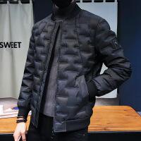 时尚新款保暖迷彩服男短款棒球服冬装新品潮流外套 迷彩