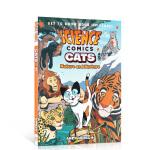 英文原版 科学漫画:猫 Science Comics: Cats进口儿童绘本图画故事书 小学生课外阅读猫科动物科普认知