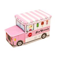 儿童玩具收纳凳可坐人储物凳子家用宝宝整理箱时尚盒零食换鞋板凳