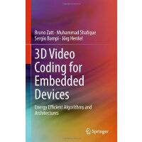 【预订】3D Video Coding for Embedded Devices: Energy Efficient