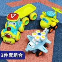 宝宝玩具车男孩回力车惯性小汽车童玩具模型战斗飞机火车直升机