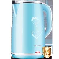 电热烧水壶家用保温煮煲水器小型自动断电大容量304不锈钢