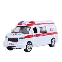 救护车 儿童玩具救护车仿真模型男女孩惯性小汽车120急救车