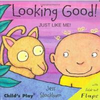 Just Like Me: Looking Good! 像我一样:看上去不错! (2007年学龄前儿童实用金奖) ISBN 9781846430473